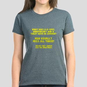 G-spot, anniversary, toilet Women's Dark T-Shirt