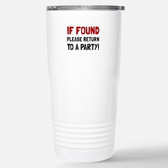 Return To Party Travel Mug