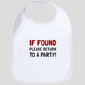 Return To Party Bib