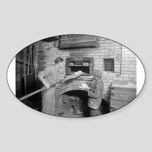 Bread Bakers, 1917 Sticker