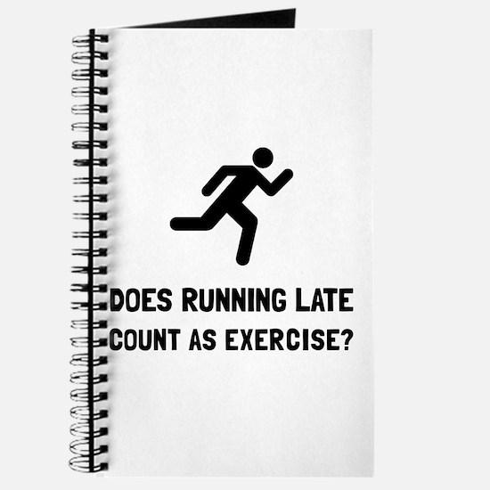 Running Late Exercise Journal