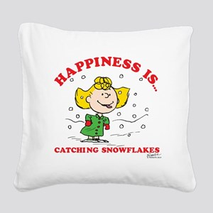 Happiness is... Square Canvas Pillow