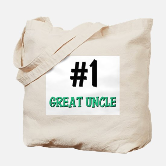Number 1 GREAT UNCLE Tote Bag