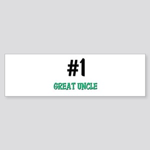 Number 1 GREAT UNCLE Bumper Sticker