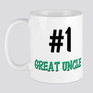 Number 1 GREAT UNCLE Mug