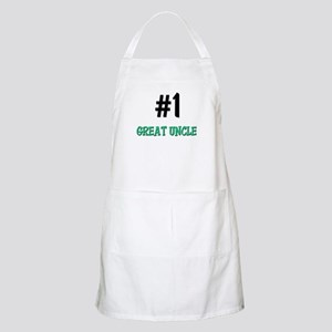 Number 1 GREAT UNCLE BBQ Apron