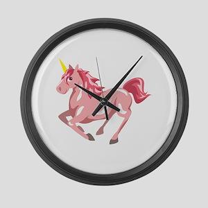 Pegasus Horse Flying Animal Large Wall Clock