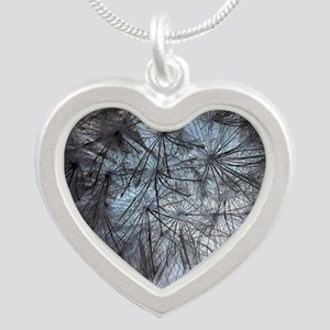 Make a wish Silver Heart Necklace