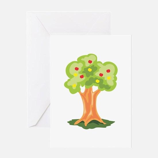 Tree Plant Greeting Cards