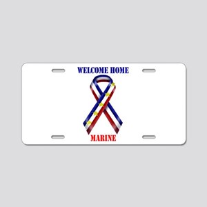 Ribbon2-marine Aluminum License Plate