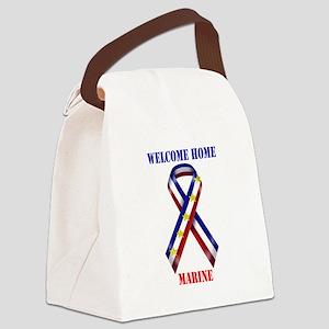 Ribbon2-marine.jpg Canvas Lunch Bag