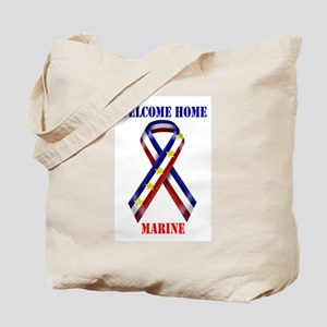 Ribbon2-marine Tote Bag