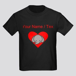 Custom Elephant Heart T-Shirt