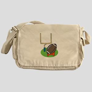 Football Goalpost Messenger Bag