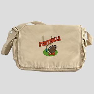 Football Field Messenger Bag