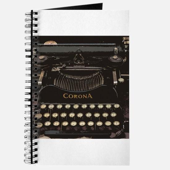 antique typewriter Journal