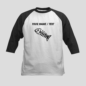 Custom Fish Bones Baseball Jersey
