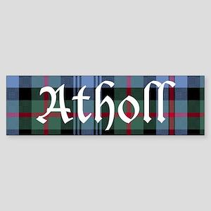 Tartan - Atholl dist. Sticker (Bumper)