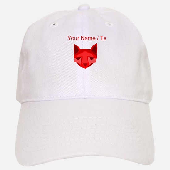 Custom Red Fox Baseball Baseball Baseball Cap