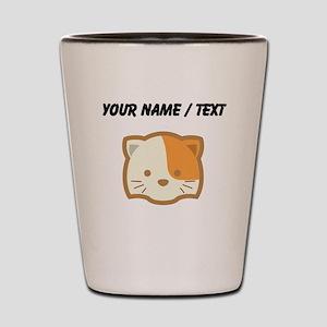 Custom Cute Cat Shot Glass