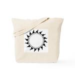 Sunny Flames Tote Bag