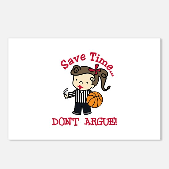 Dont Argue Postcards (Package of 8)