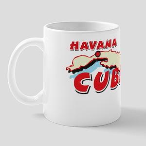 Cuba Map Mug