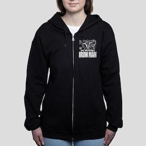 Iron Man MC 2 Women's Zip Hoodie