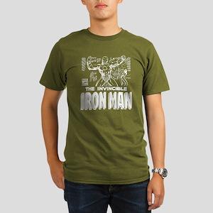 Iron Man MC 2 Organic Men's T-Shirt (dark)