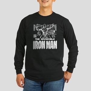 Iron Man MC 2 Long Sleeve Dark T-Shirt