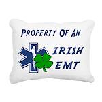 Property Of Irish EMT Rectangular Canvas Pillow