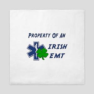 Property Of Irish EMT Queen Duvet