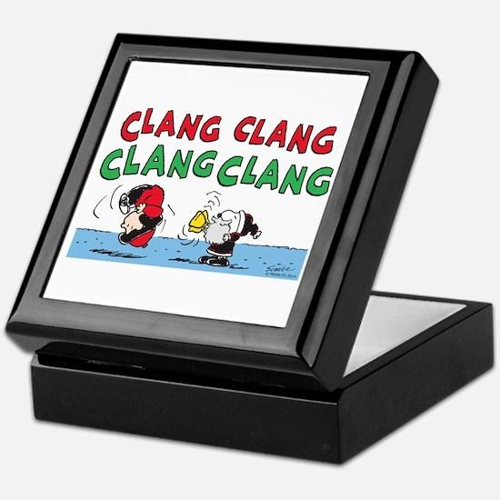 Snoopy and Lucy Christmas Keepsake Box