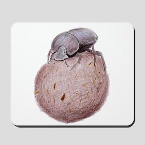 Dung Beetle Mousepad