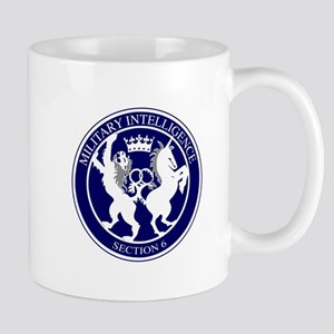 MI6 Logo Button Mugs
