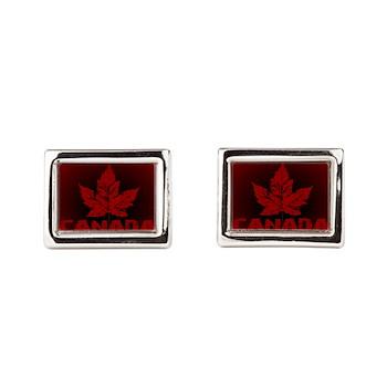 Canada Souvenirs Vintage Rectangular Cufflinks