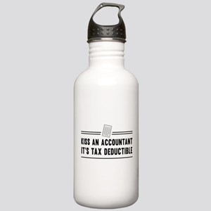 Kiss an accountant deductible Water Bottle