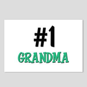 Number 1 GRANDMA Postcards (Package of 8)