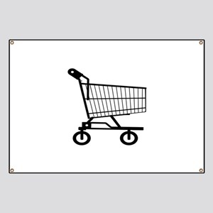 Shopping Cart Banners Behind Banners