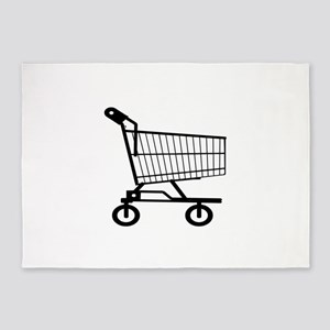 Shopping Cart 5'x7'Area Rug
