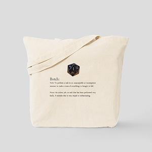 D20 And D10 Botch Tote Bag