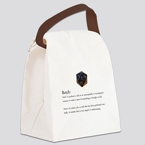 D20 Botch Canvas Lunch Bag