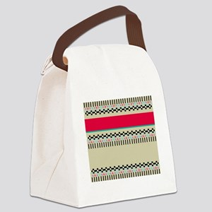 Indian freestyle Canvas Lunch Bag