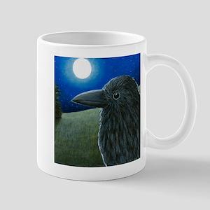 Bird 52 crow raven Mugs
