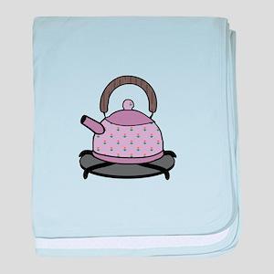 Tea Kettle baby blanket