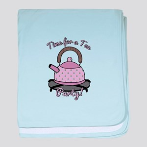 Tea Party Time baby blanket