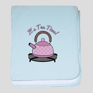 Its Tea Time baby blanket