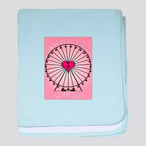 Ride To The Top baby blanket