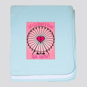 Go Round And Round baby blanket