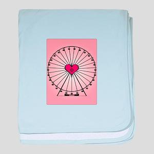 Love Ferris Wheel baby blanket